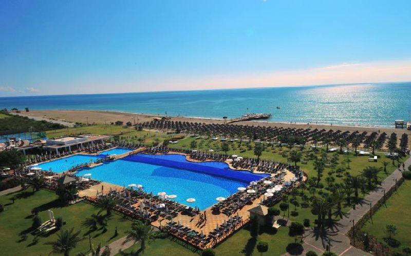 voyage belek golf hotel outdoor pool