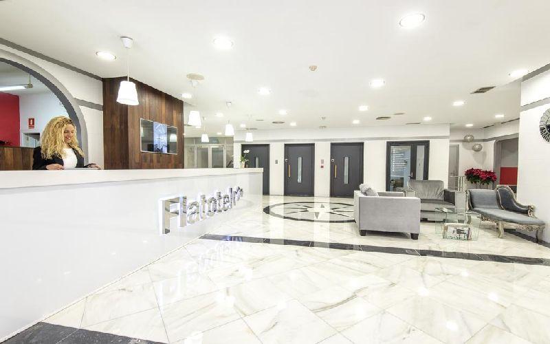 Flatotel International Golf Hotel reception