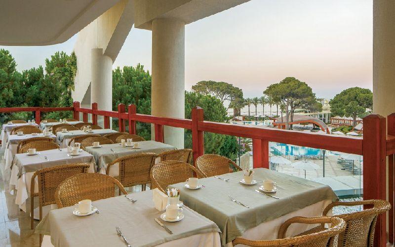 cornelia de luxe golf resort terrace restaurant