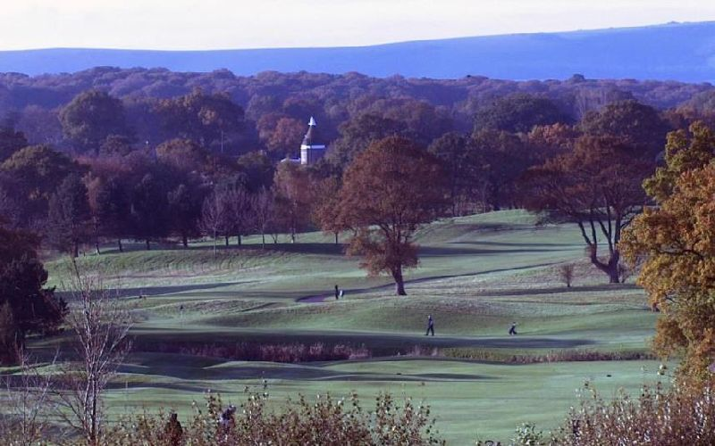 east sussex national golf course view
