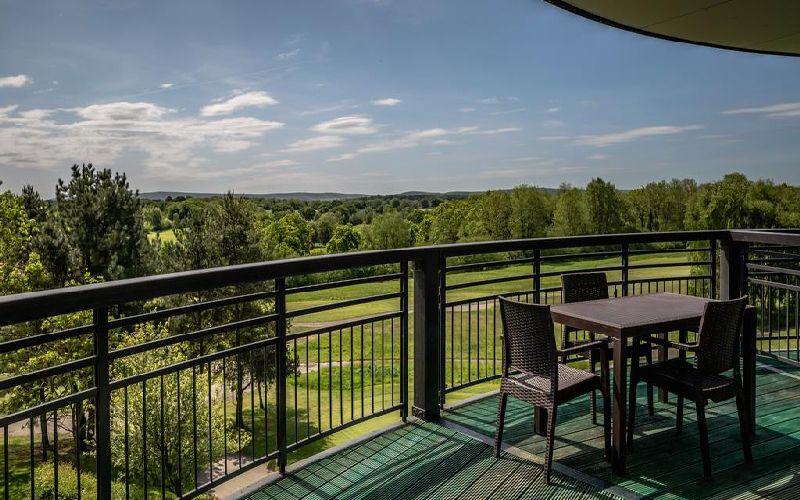 east sussex national golf resort balcony