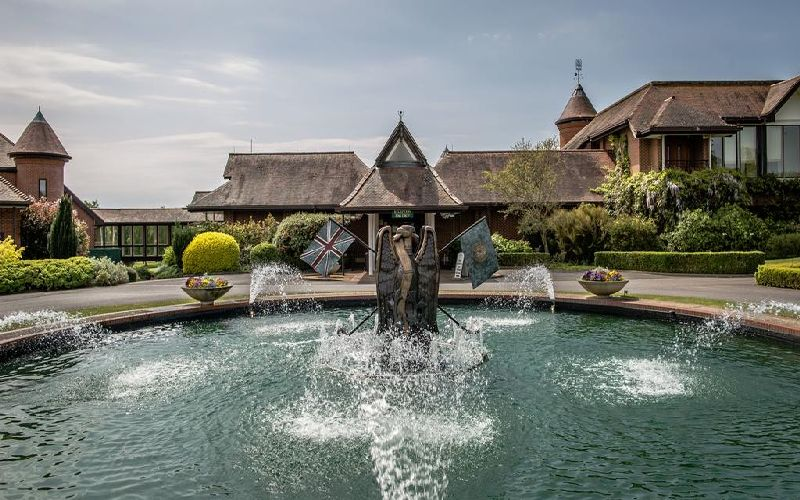 east sussex national golf resort fountain