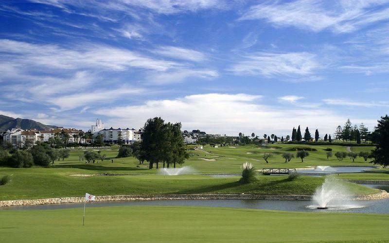 mijas olivos golf course green