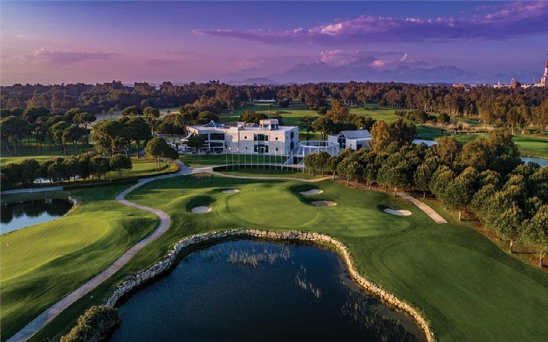 sirene belek hotel golf resort clubhouse