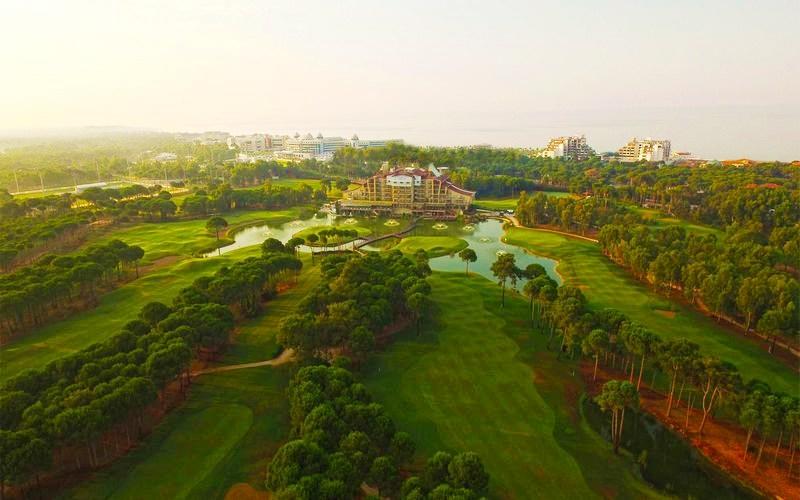 sueno hotels golf belek aerial