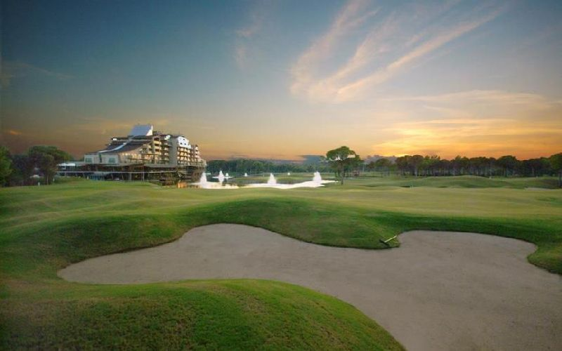 sueno hotels golf belek courses bunker