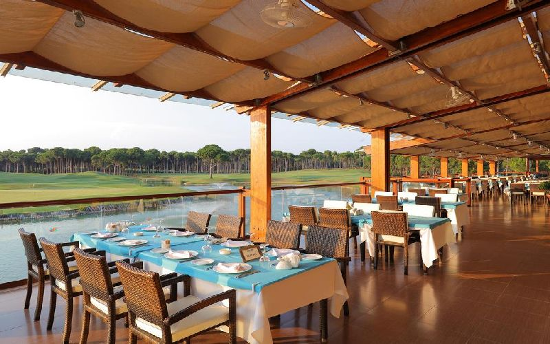 sueno hotels golf belek restaurant terrace