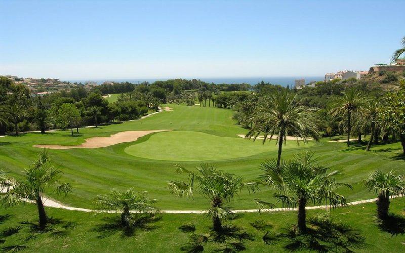 torrequebrada golf course green