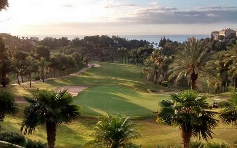 torrequebrada golf course spain