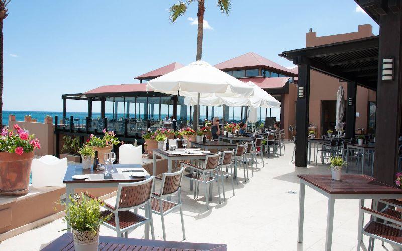 Guadalmina golf resort restaurant beach
