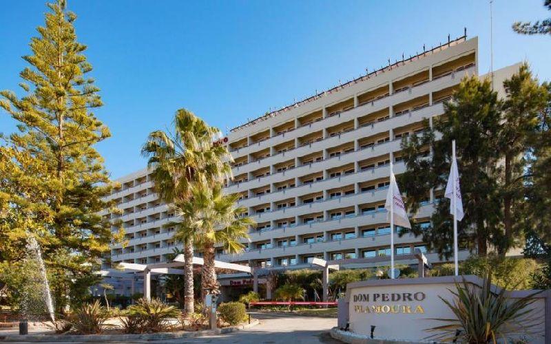 dom pedro vilamoura golf hotel external portugal