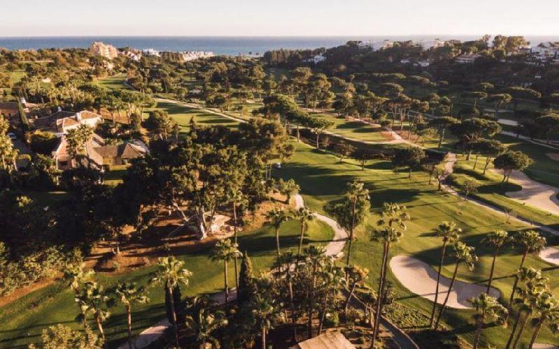 rio real golf course aerial