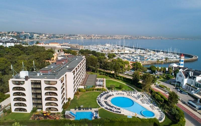 Vila Gale Cascais golf holidays aerial view