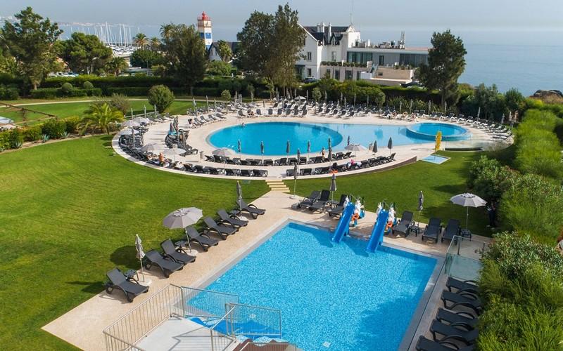 Vila Gale Cascais golf holidays pool view
