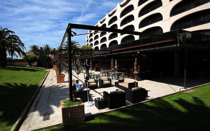 Vila Gale Cascais golf holidays terrace