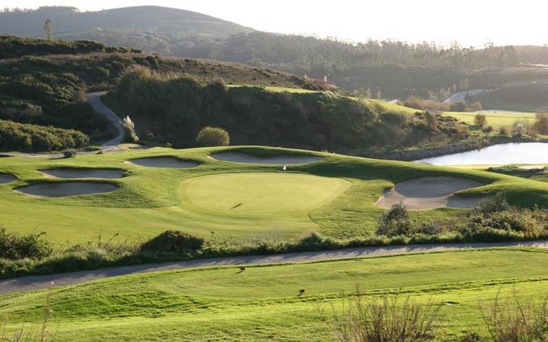belas golf course green bunker