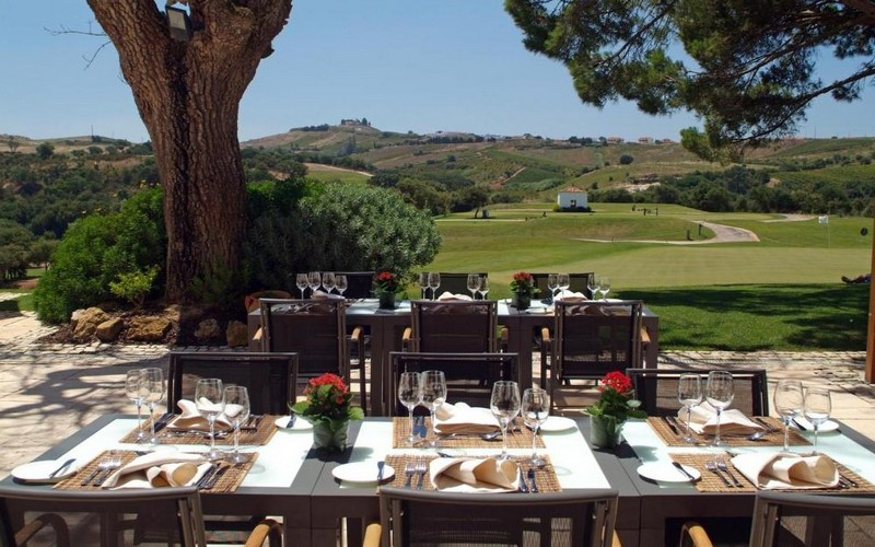 camporeal golf resort terrace