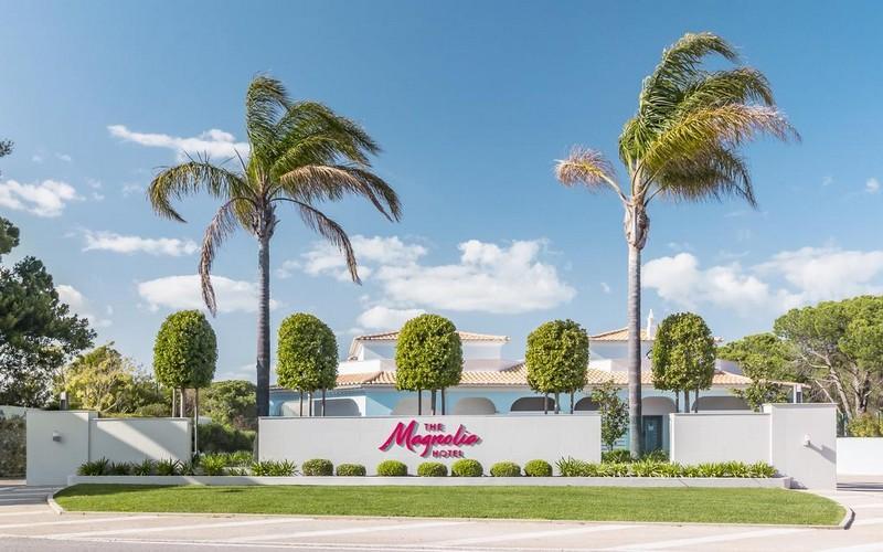 magnolia hotel golf holidays entrance