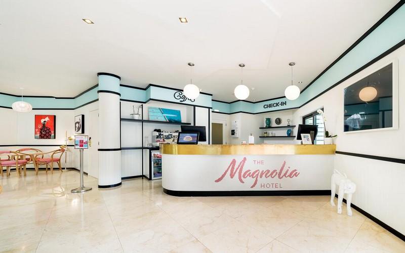 magnolia hotel golf holidays reception