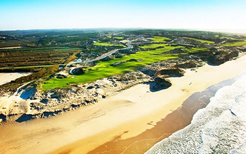 praia d'el rey golf course aerial