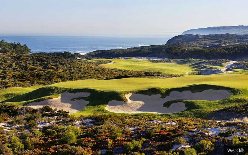 west cliffs golf course green