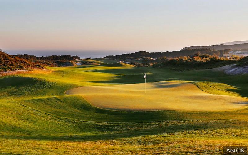 west cliffs golf course
