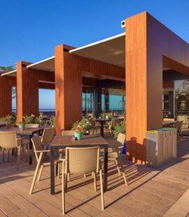 four views monumental hotel terrace