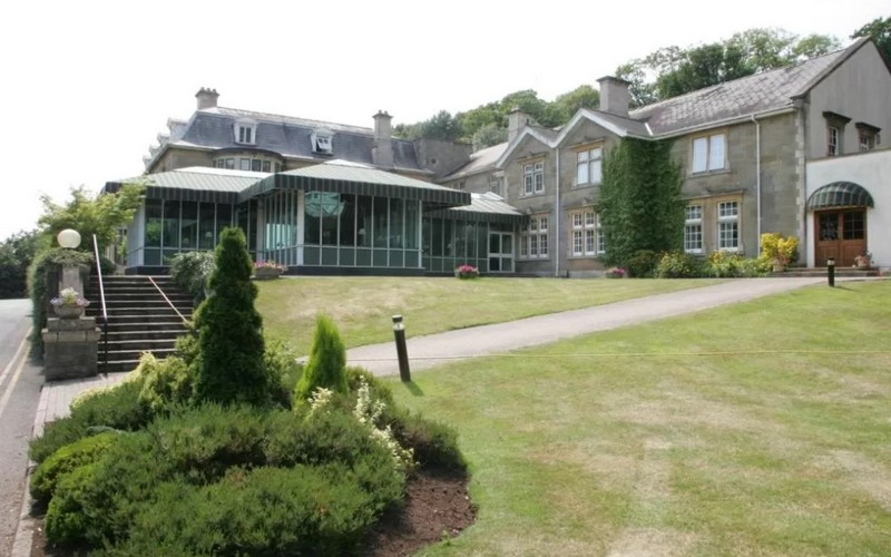 manor house at celtic manor exterior