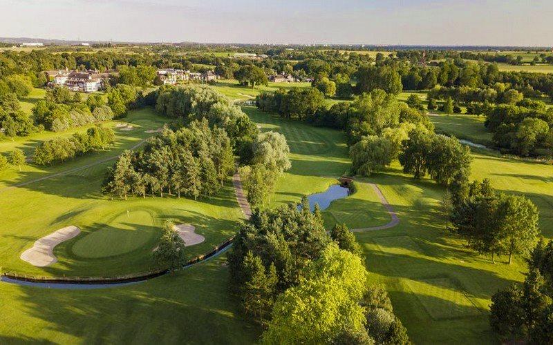 belfry resort course aerial