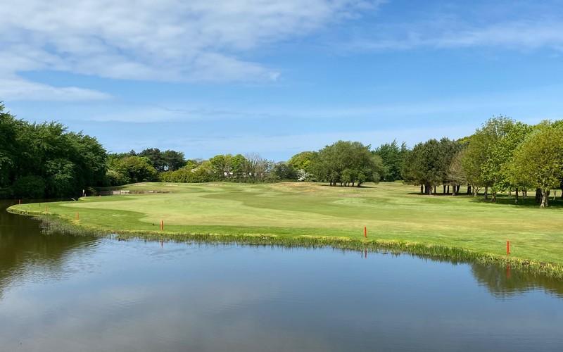 formby hall golf course lake