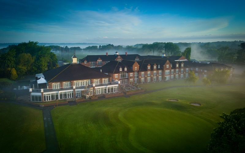 formby hall golf course mist