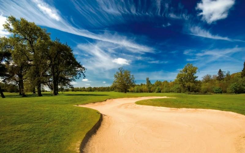 linden hall golf course bunker