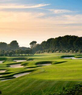 real club de golf el prat sunset barcelona
