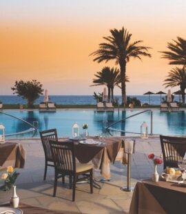 Constantinou Bros Athena Beach pool restaurant