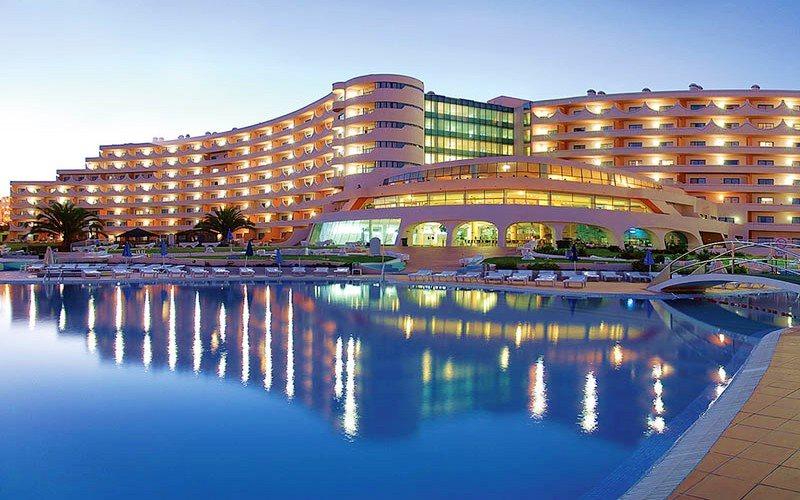 paraisodealbufeira hotel exterior portugal
